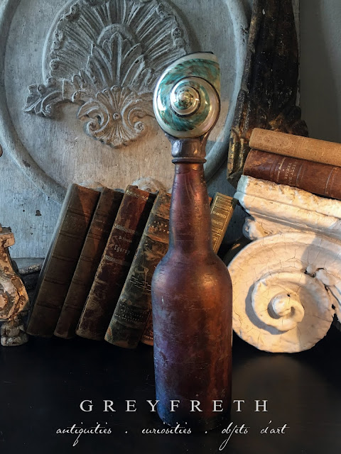Greyfreth shell bottles