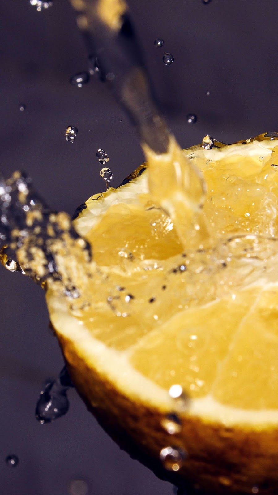 Water Fruit Lemon Wallpaper Hd Wallpapers World