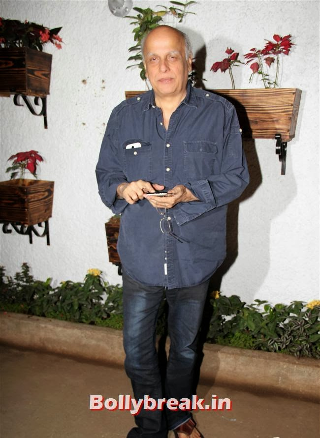 Mahesh Bhatt, Ajaz Khan and Arjumann Mughal at 'Ya Rab' Movie Special Screening