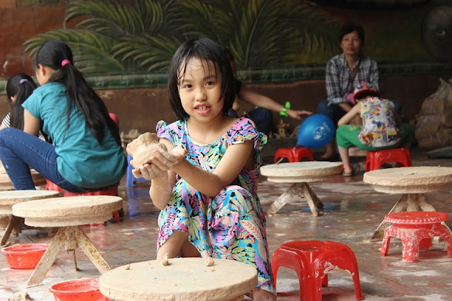 Bat Trang Village has been a popular weekend getaway for the locals 2