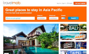 Check out Homeaway Asia plenty of rentals you book with the owner direct