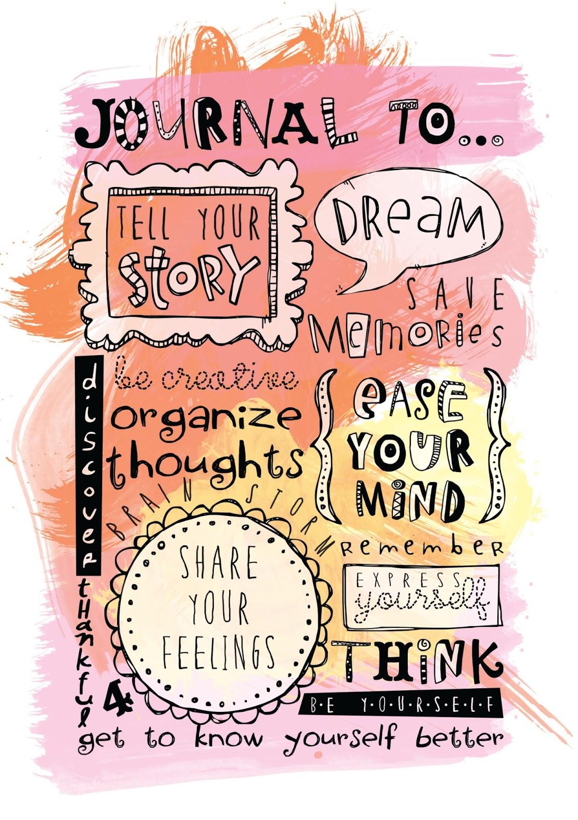 Fontaholic Tuesday Tip Journaling