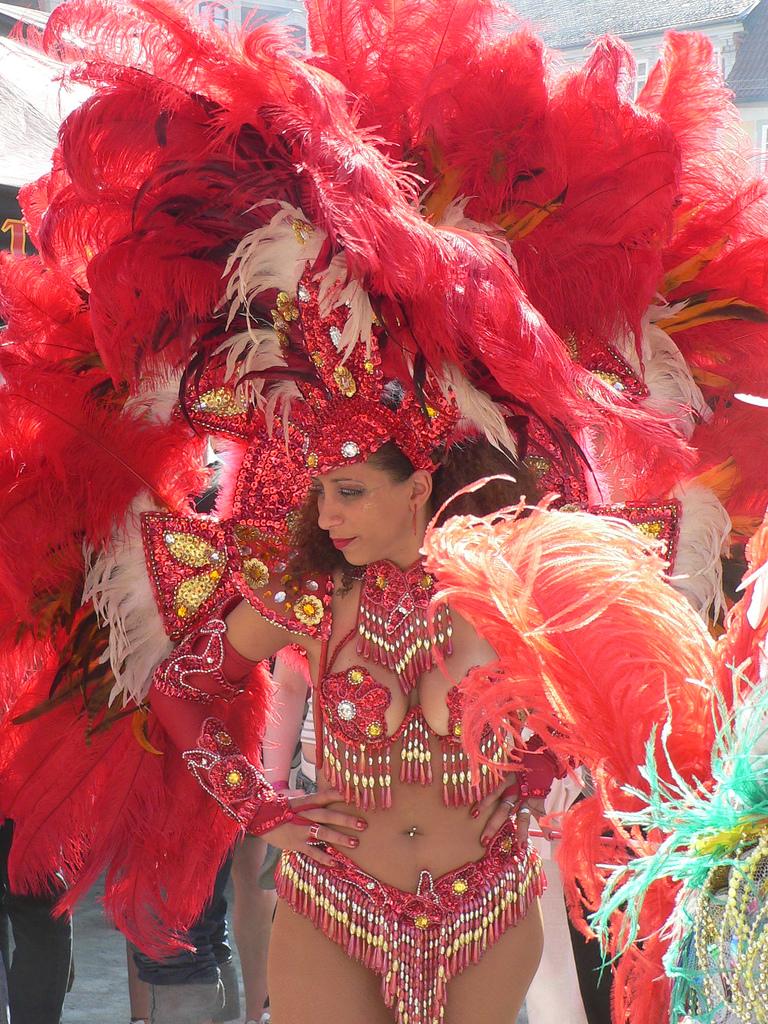 Samba Dance  Samba Festival In Brazil  Rio De Janeiro -1430
