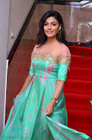 Anisha Ambrose sizzles in cute Green Anarkali Dress at Fashion TV F Club Saloon Launch ~  Exclusive 005.JPG
