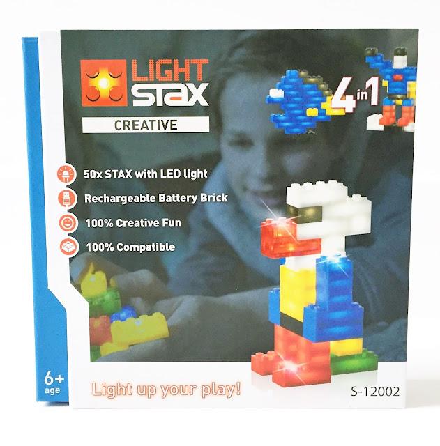 Studio Mojo, Light Stax, Sinterklaas, kadootje, kado, Lego