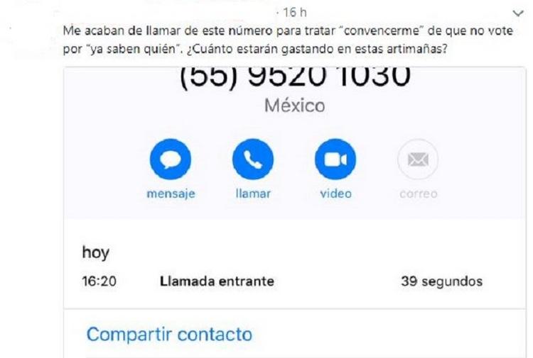 Ordena INE cancelar llamadas anti AMLO