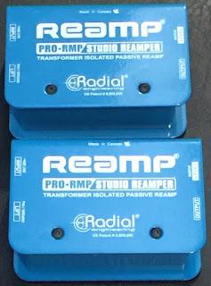 RADIAL REAMP REVIEW - PRO-RMP STUDIO REAMPER