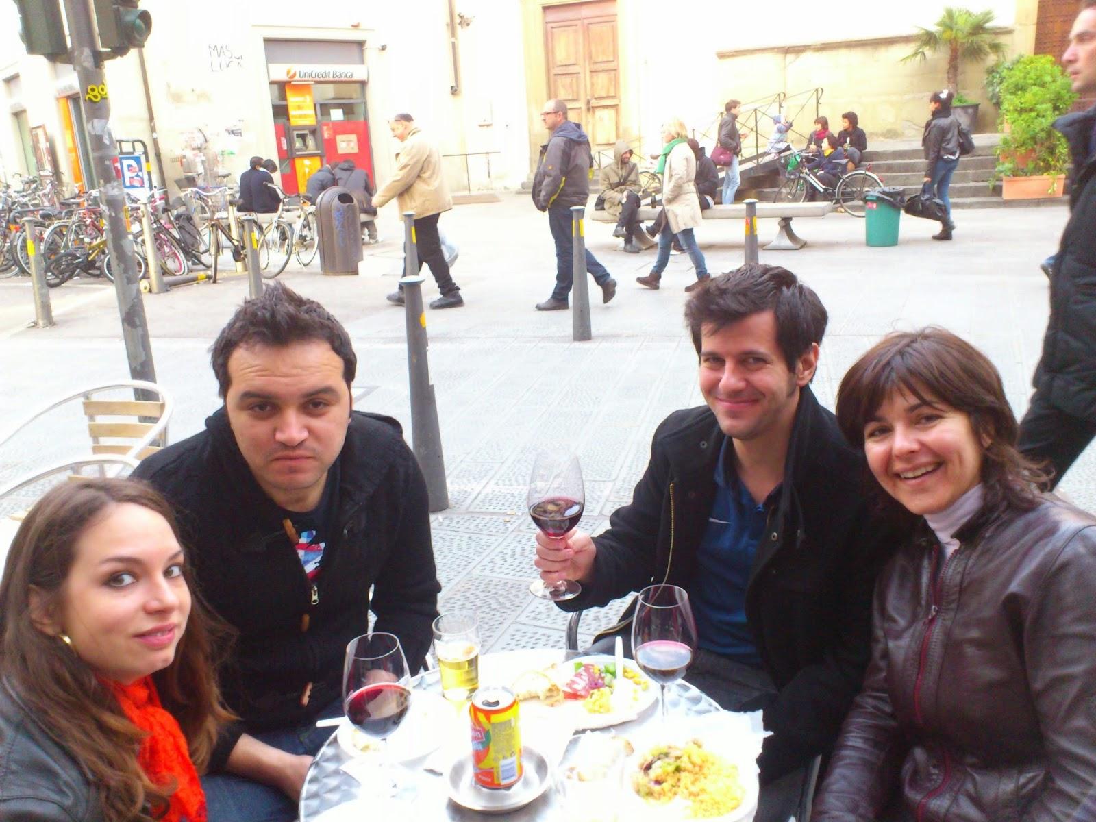 Comer de graça é mais gostoso - Florença - Itália