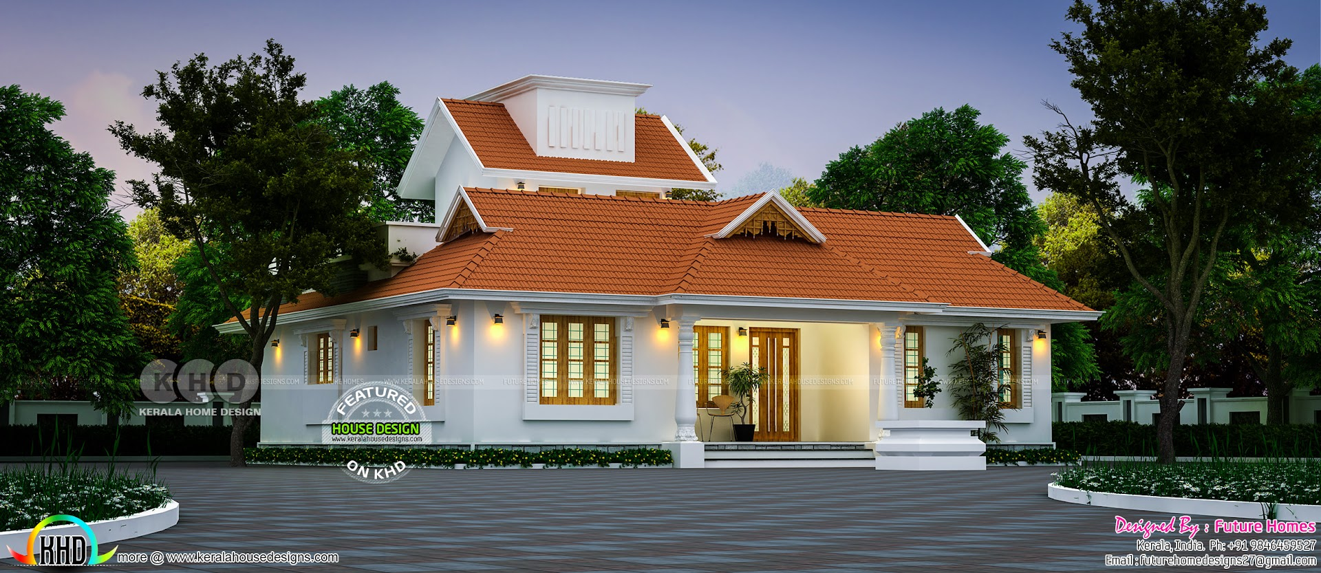 Beautiful 3 Bhk Traditional Kerala Home Design Kerala Home