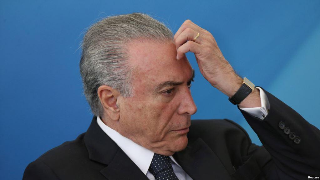 El expresidente brasileño Michel Temer ya había sido acusado de corrupción en tres ocasiones anteriores / REUTERS