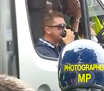 Tommy Robinson in Walthamstow