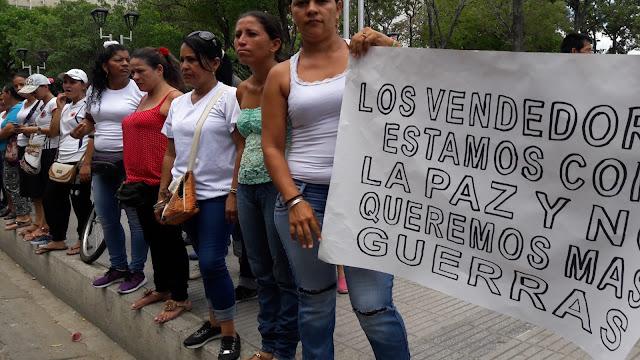 #RSY ReporteroSoyYo | En Cúcuta la ciudad de la informalidad, vendedores ambulantes protestan frente a la Alcaldía #CF CorpoFrontera