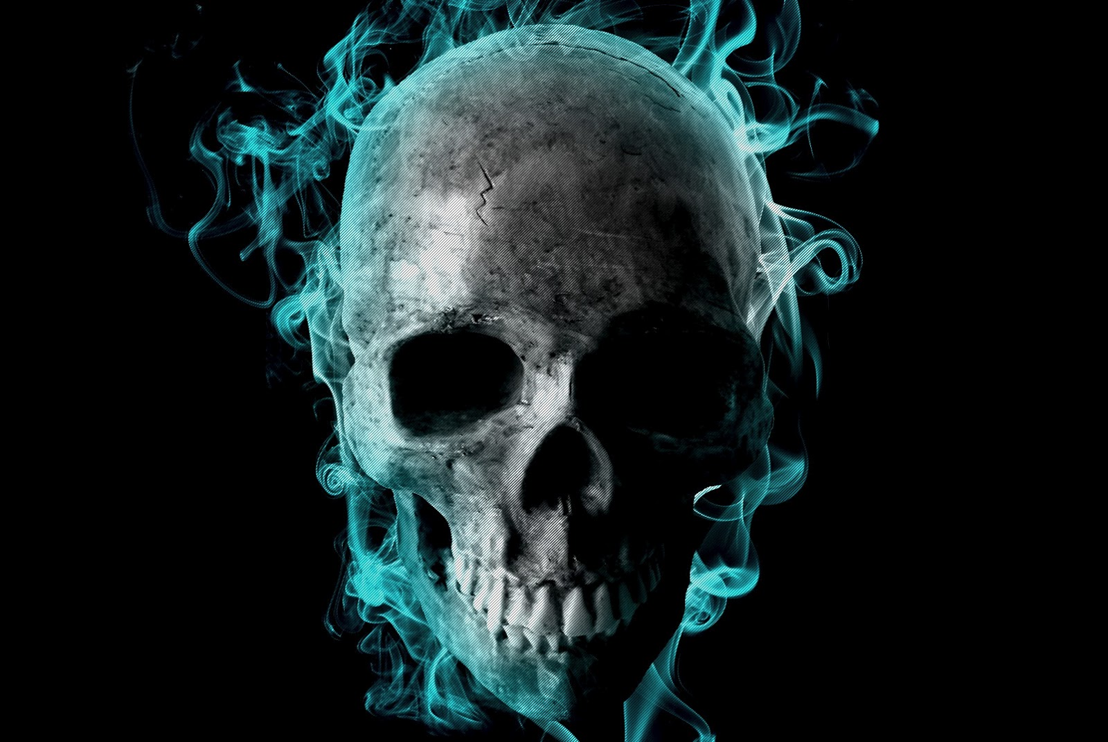 skull wallpaper for windows 7 - photo #44
