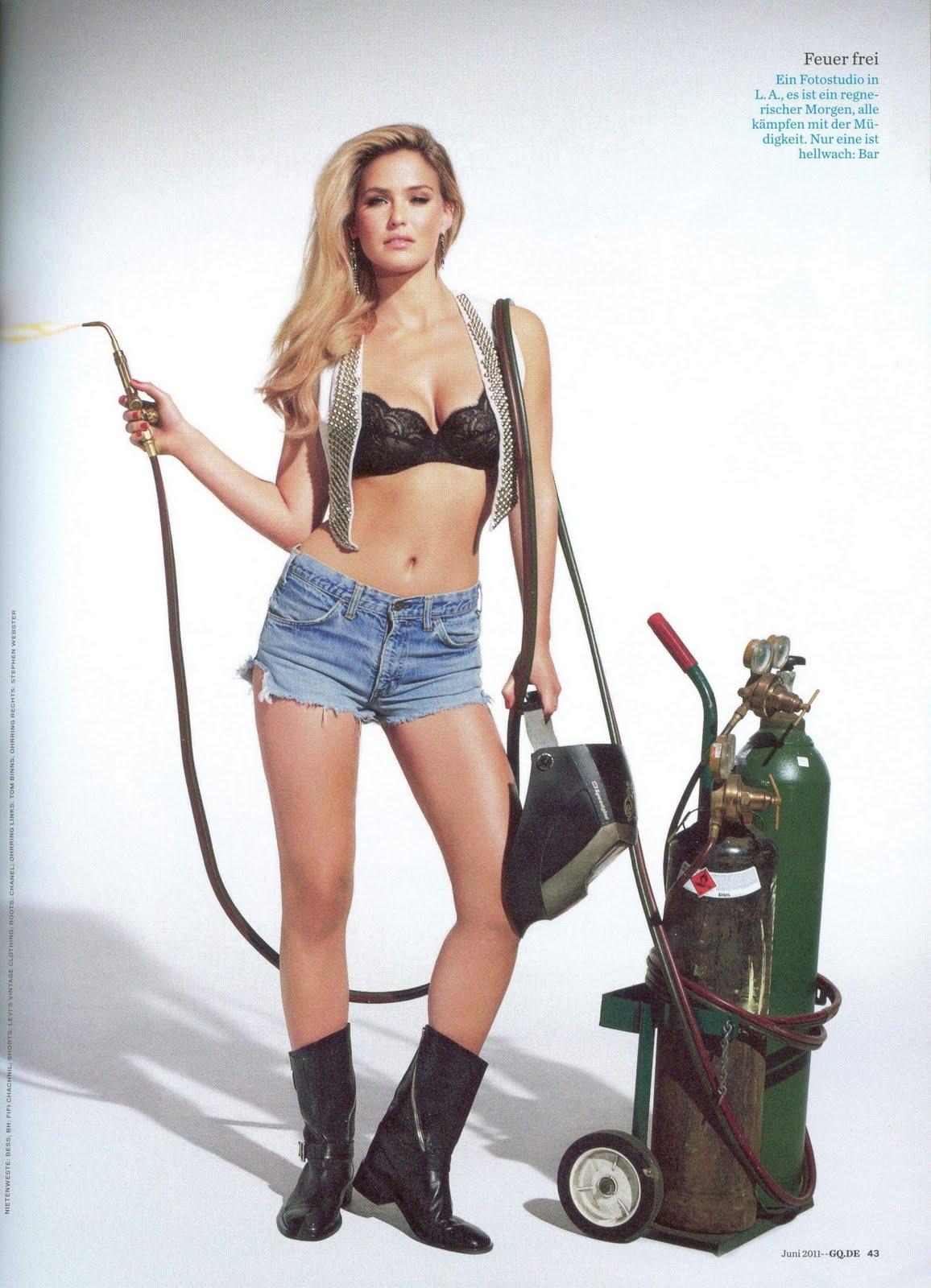 Models Inspiration: Bar Refaeli (GQ Germany, June 2011)