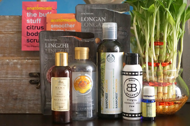 The Body Shop, Anatomicals, The Face Shop, Kama Ayurveda, FabIndia Essential Oil