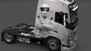 The Stig skin for Volvo FH 2012