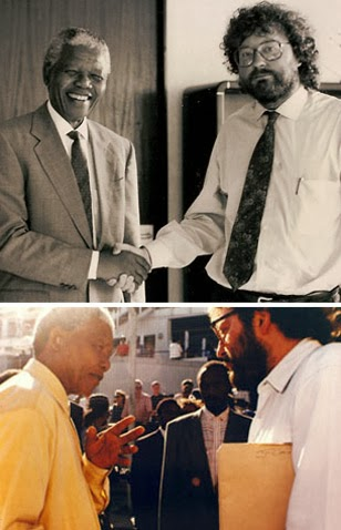 d55eab4fa La salida de Mandela estaba prevista para las dos de la tarde y se demoró  hasta las seis. La presión crecía y convertía aquella jornada en algo  histórico, ...