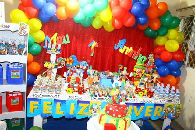 Decoração Festa Patati e Patata