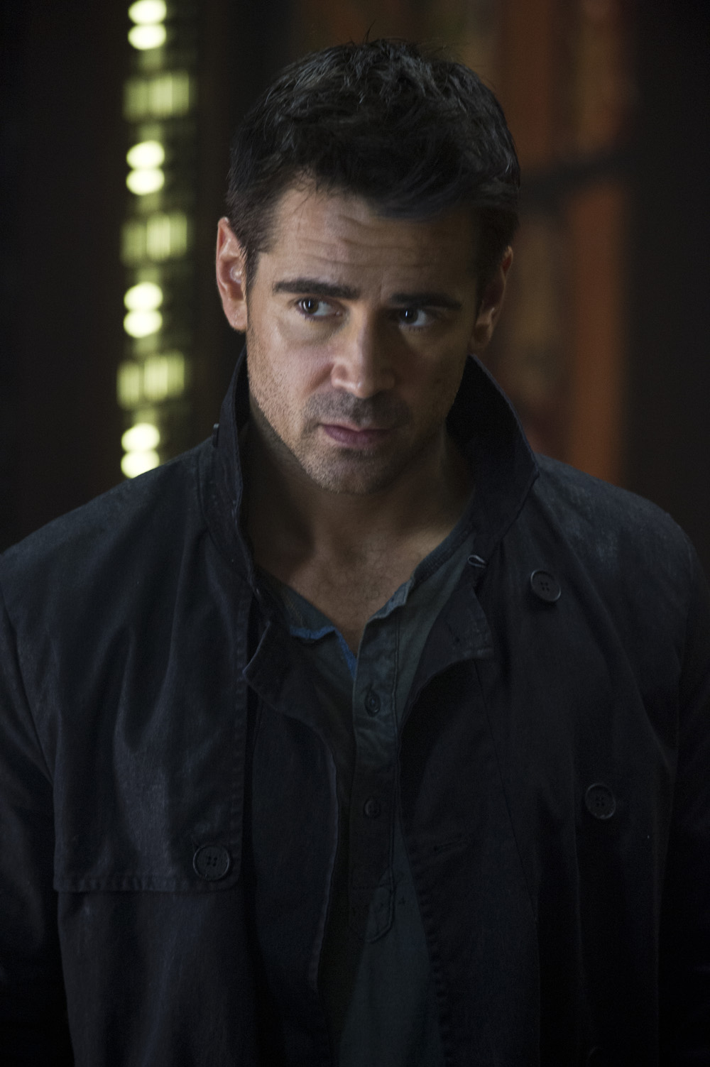 "Colin Farrell Talks About ""Total Recall"" ~ ShowbizNest"