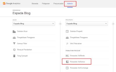 Cara Simple Menautkan Adsense dengan Google Analytics 15