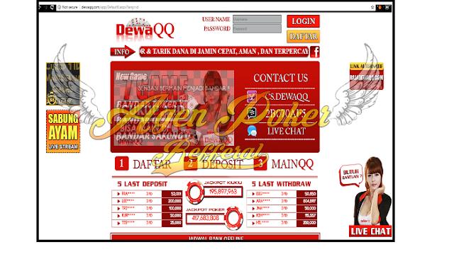 DewaQQ Situs BandarQ Online| Poker Online Dan Domino QQ Terpercaya