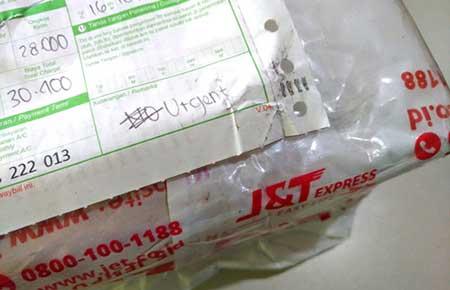 Nota Resi + Paket J&T Express