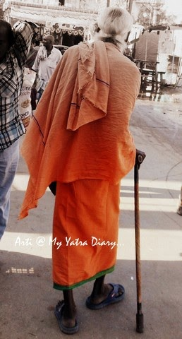 Swami in the Yoga Capital, Rishikesh, India