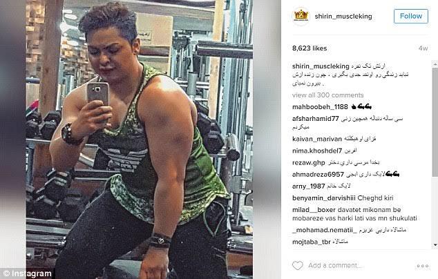 Iran jails female bodybuilder for posting unIslamic photos