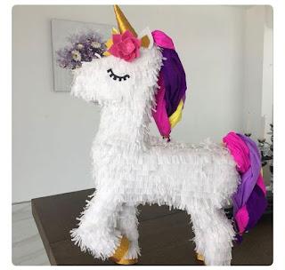 Piñatas de Unicornios