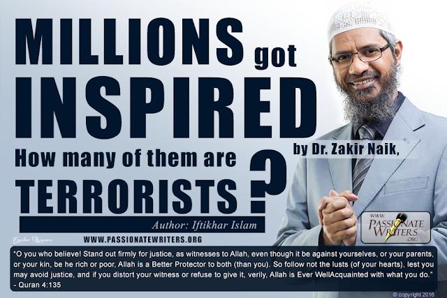 Zakir Naik Dhaka Attack Bangladesh - Passionate Writers