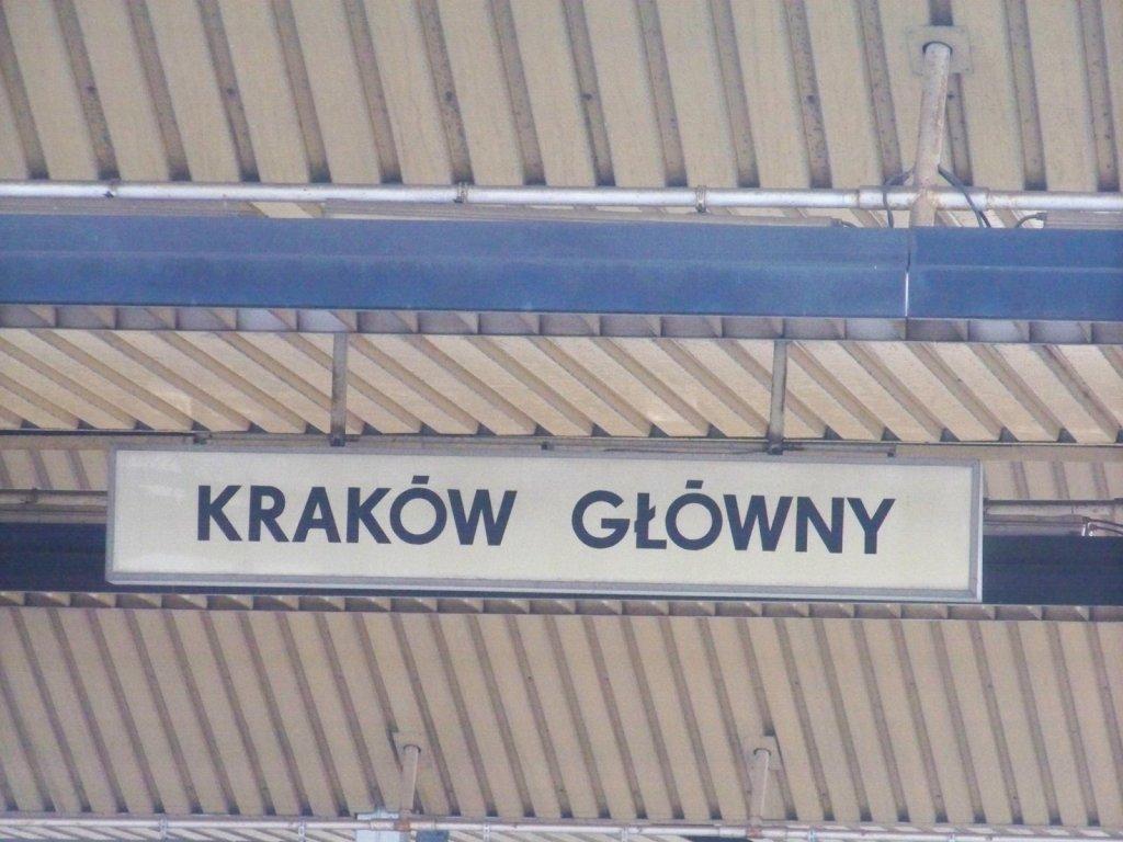 Cel podróży - Kraków Główny