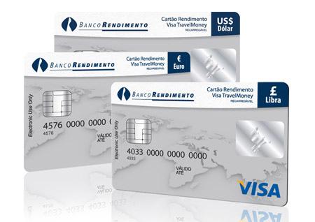 Cartão Pré Pago da Cotação em Euros