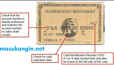 American Express Card Number Format and Security Features 2018