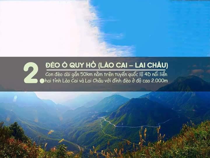 Đèo Ô Quý Hồ (Lào Cai - Lai Châu)