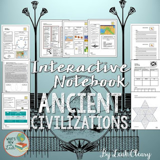 Ancient Civilizations Interactive Notebook