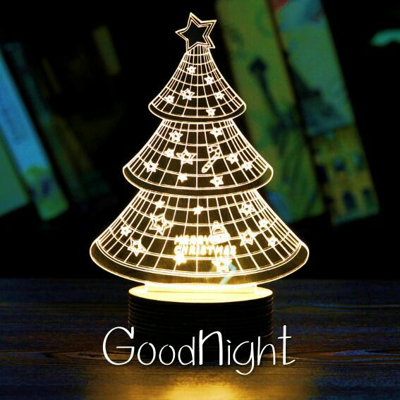 Good Night LED Light Wallpapers