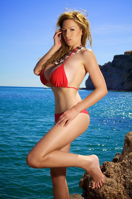 Jordan-Carver-red-bikini-hd-hot-sexy-photo-12