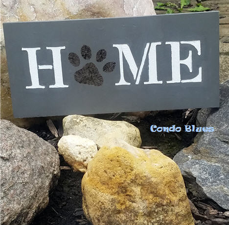 how to make DIY dog home wood sign decor