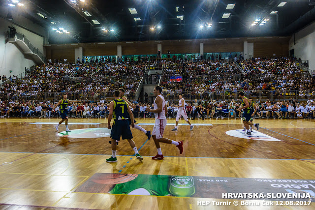 HEP TURNIR @ Utakmica Hrvatska-Slovenija 85-81 Opatija 12.08.2017