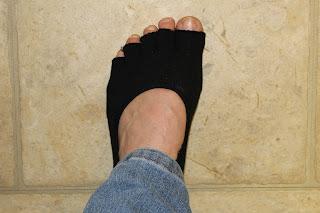 Toeless Yoga Socks 4