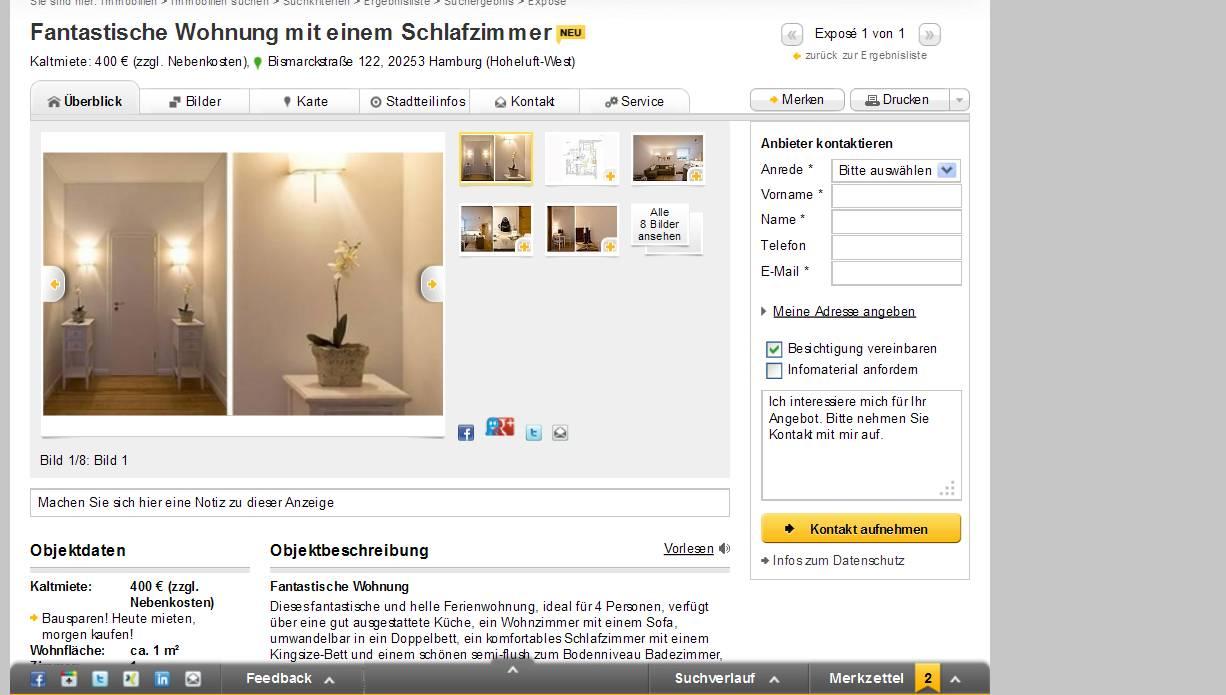 Ebay Wohnung Hamburg