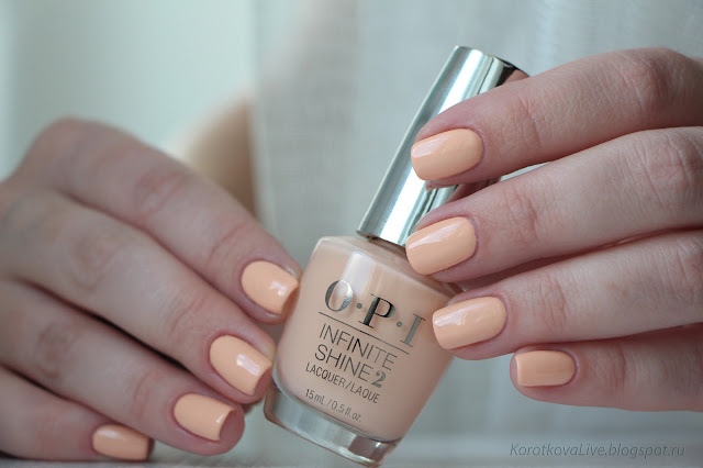 OPI infinite shine / summer 2016 The Nuances of Neutral