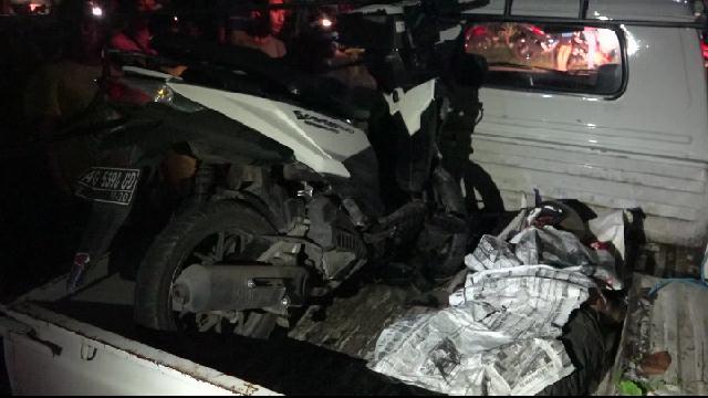 Tabrak Pohon Jati Di Mlilir, Pengendara Motor Asal Slahung Ponorogo Tewas Ditempat