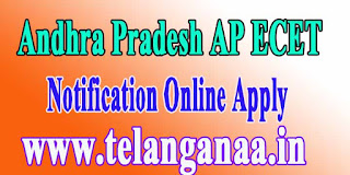 Andhra Pradesh AP ECET APECET 2017 Notification Online Apply