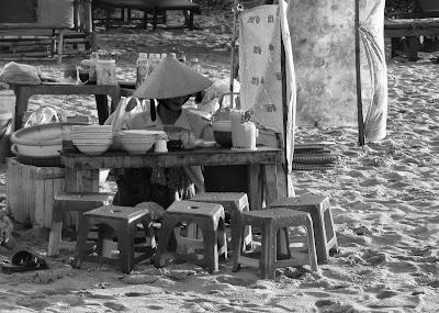 Plage d'An Bang à Hoi An au Vietnam