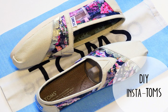 Zapatillas con decoupage de fotografias tutorial
