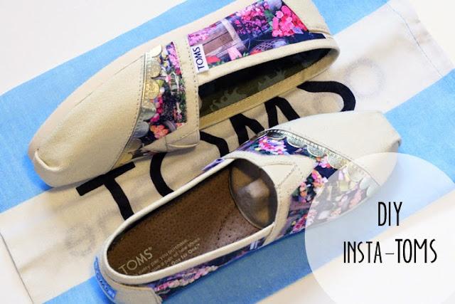 zapatillas, customizar, decoupage, refashion,manualidades,diy