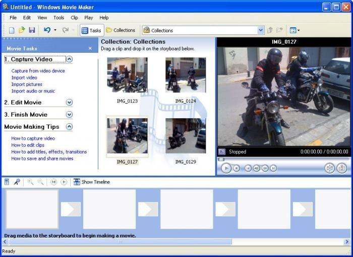 Software Windows Movie Maker