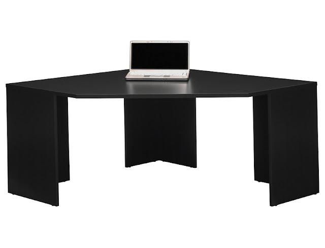 best buy cheap black office corner desk Stockport for sale