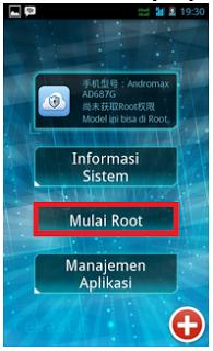 Tutorial Root Andromax G Tanpa PC Dengan Key Root Master